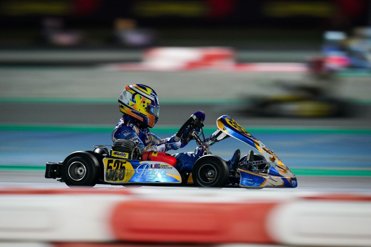 Karting-competition-Louis-Iglesias